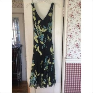 Jones New York Dress 100% SILK